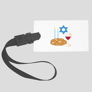 Jewish Shabbot Luggage Tag
