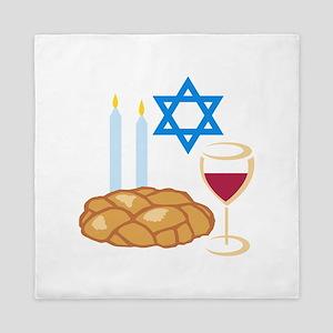 Jewish Shabbot Queen Duvet