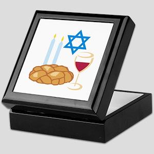 Jewish Shabbot Keepsake Box