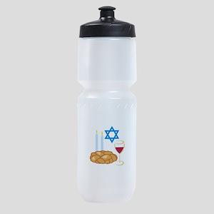 Jewish Shabbot Sports Bottle