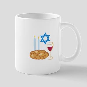 Jewish Shabbot Mugs