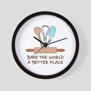 Bake The World Wall Clock