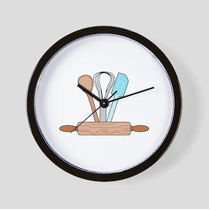 Bakers Tools Wall Clock