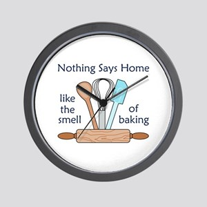 Smell Of Baking Wall Clock
