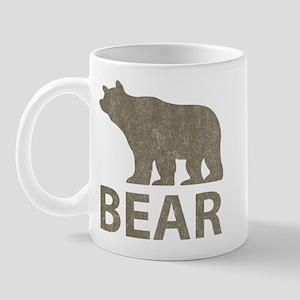 Vintage Bear Mug