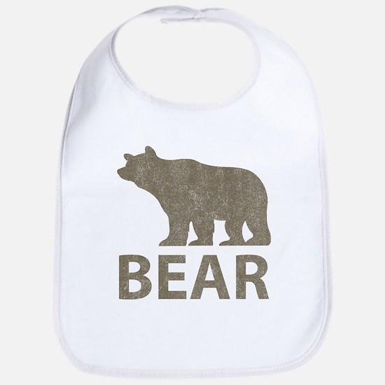 Vintage Bear Bib
