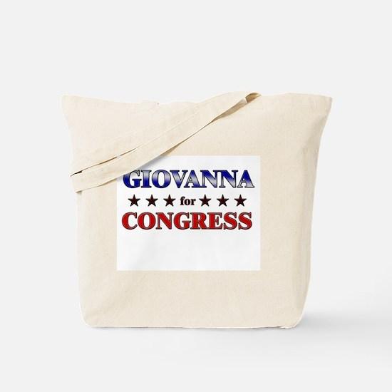 GIOVANNA for congress Tote Bag