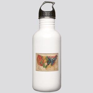 Vintage United States Stainless Water Bottle 1.0L