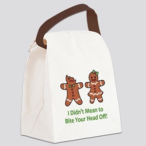 Bite Head Off Canvas Lunch Bag