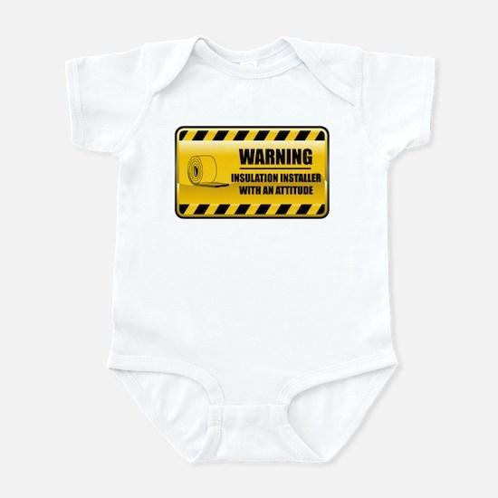 Warning Insulation Installer Infant Bodysuit