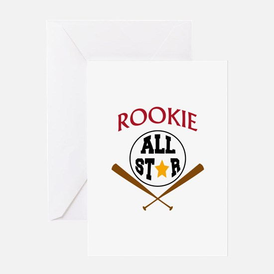 All Star Rookie Greeting Cards