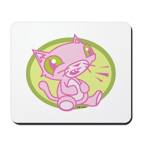 Shout Cat Mousepad