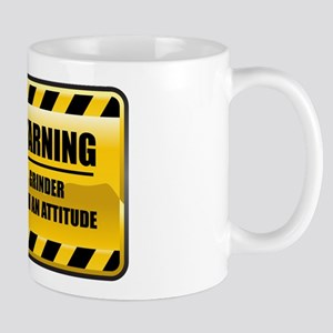 Warning Grinder Mug