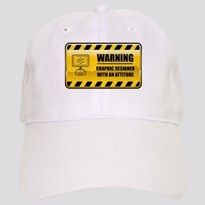 Warning Graphic Designer Cap