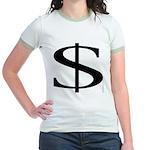 104. $ Jr. Ringer T-Shirt