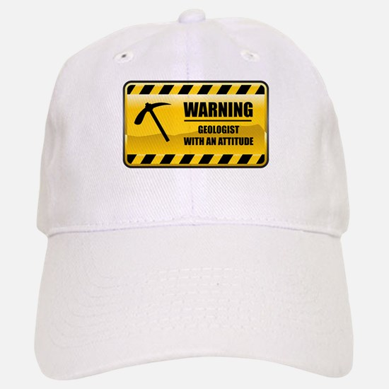 Warning Geologist Baseball Baseball Cap