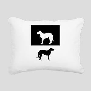 Deerhound Rectangular Canvas Pillow