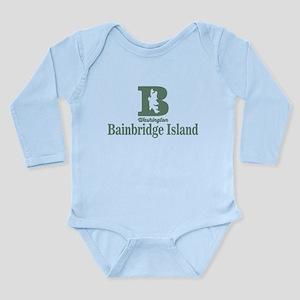 Bainbridge - Washingto Long Sleeve Infant Bodysuit