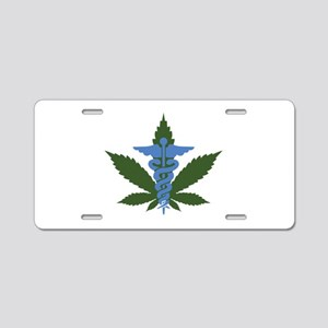 Medical Marijuana Aluminum License Plate
