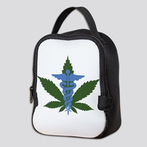 Medical Marijuana Neoprene Lunch Bag