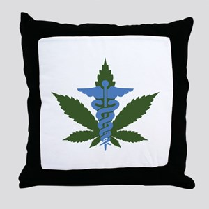 Medical Marijuana Throw Pillow