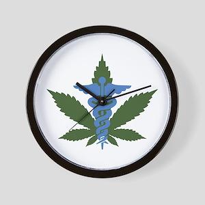 Medical Marijuana Wall Clock