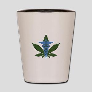 Medical Marijuana Shot Glass
