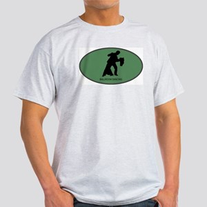 Ballroom Dancing (euro-green) Light T-Shirt
