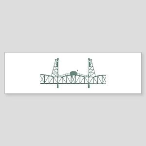 Hawthorne Bridge Bumper Sticker