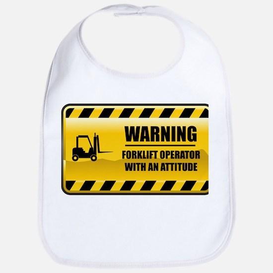 Warning Forklift Operator Bib