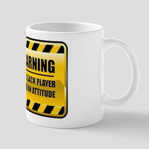 Warning Foot Sack Player Mug