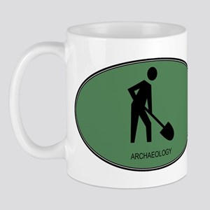 Archaeology (euro-green) Mug