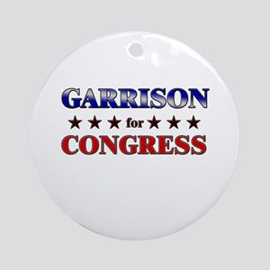 GARRISON for congress Ornament (Round)