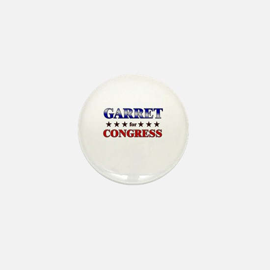 GARRET for congress Mini Button