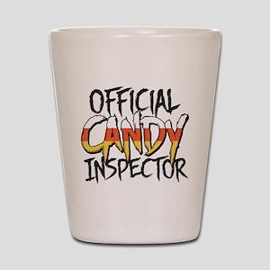 Official Candy Inspector Shot Glass