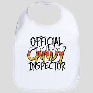 Official Candy Inspector Bib