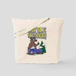 Little Sledder Tote Bag