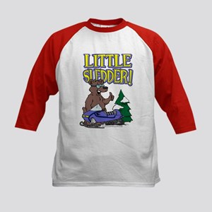 Little Sledder Kids Baseball Jersey