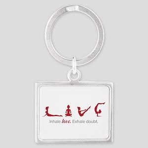 Love Yoga Keychains
