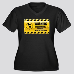 Warning Environmental Scientist Women's Plus Size