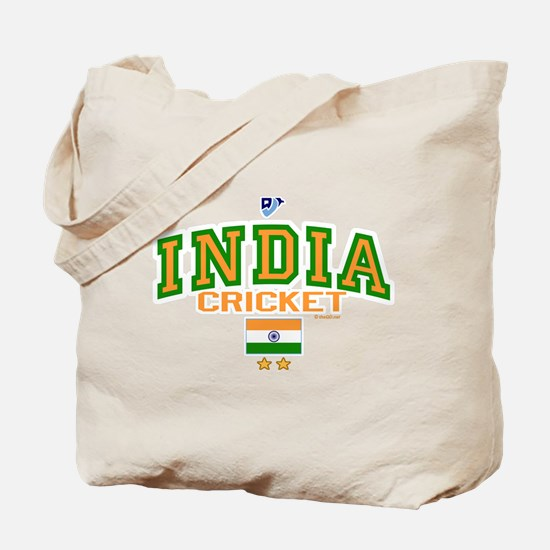 IN India Indian Cricket Tote Bag