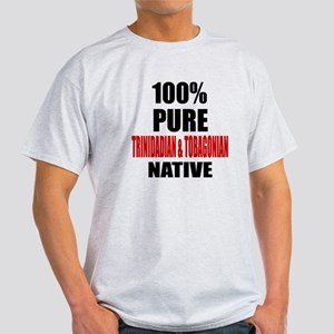 100 % Pure Trinidadian & Tobagonian Light T-Shirt