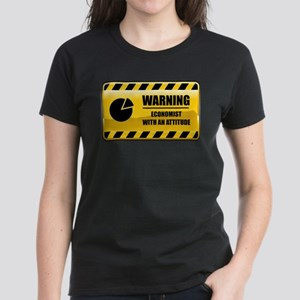 Warning Economist Women's Dark T-Shirt
