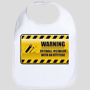 Warning Drywall Installer Bib