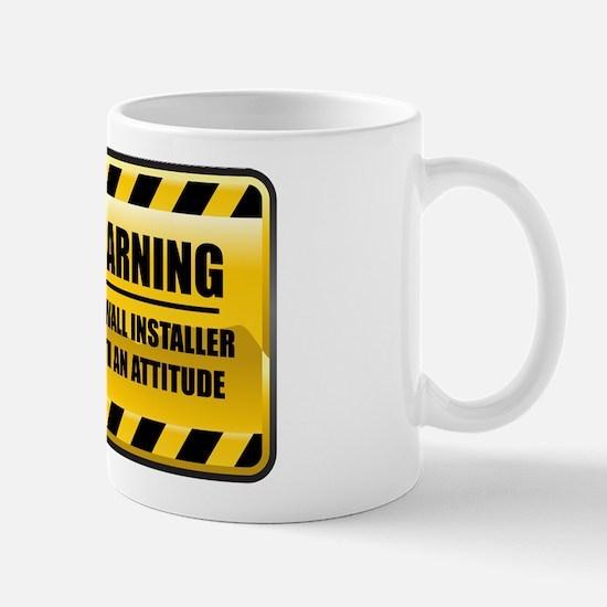 Warning Drywall Installer Mug