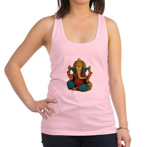 fa273e2be27b4 Yoga Elephant Women s Racerback Tank Tops - CafePress