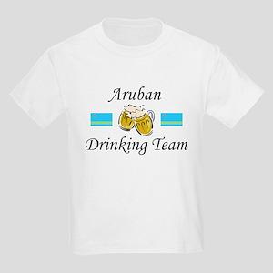 Aruban Drinking Team Kids Light T-Shirt