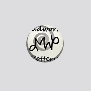 Mudworks Pottery Logo Mini Button