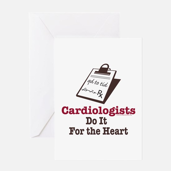 Funny Doctor Cardiologist Cardiology Greeting Card
