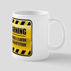 Warning Dominoes Player Mug